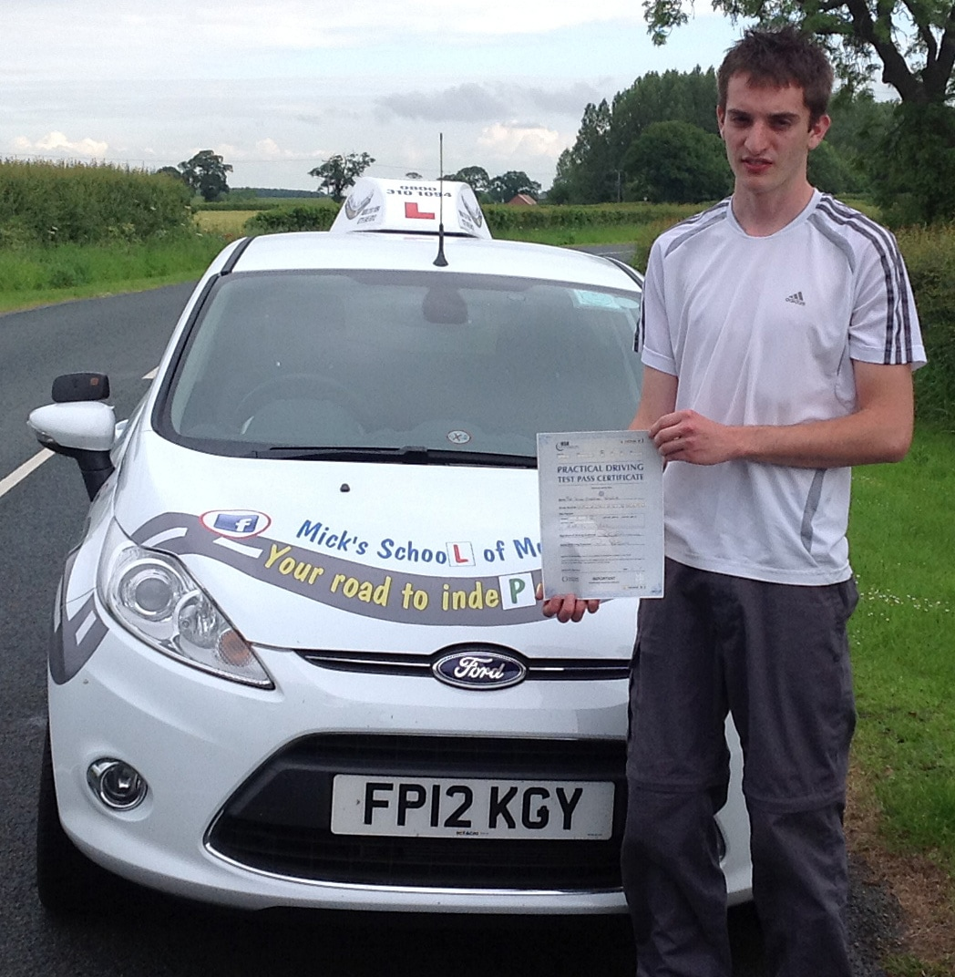 Driving Instructors in York, Selby, Howden and Goole